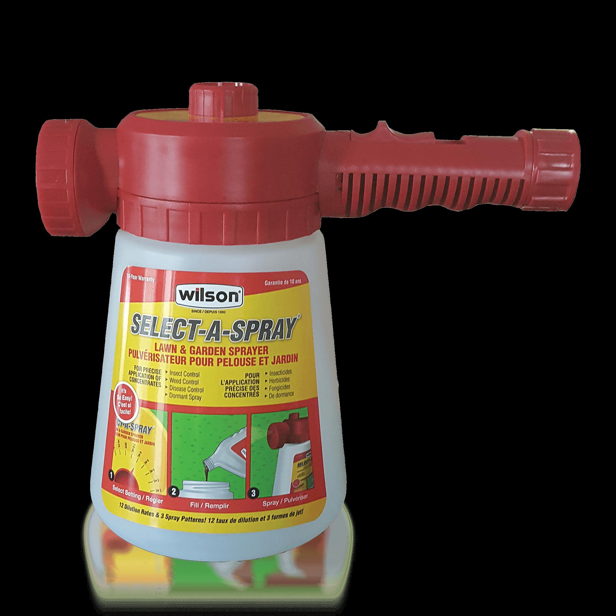 Hose Spray Nozzle >> Select-A-Spray® Lawn & Garden Sprayer