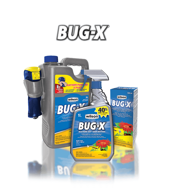 Wilson Bug X Insect Control Product Line